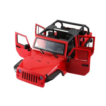 Unassembled 313mm Wheelbase Body Car Shell for 1/10 RC Crawler for Jeep Cherokee Wrangler Axial SCX10 & SCX10 II 90046 90047