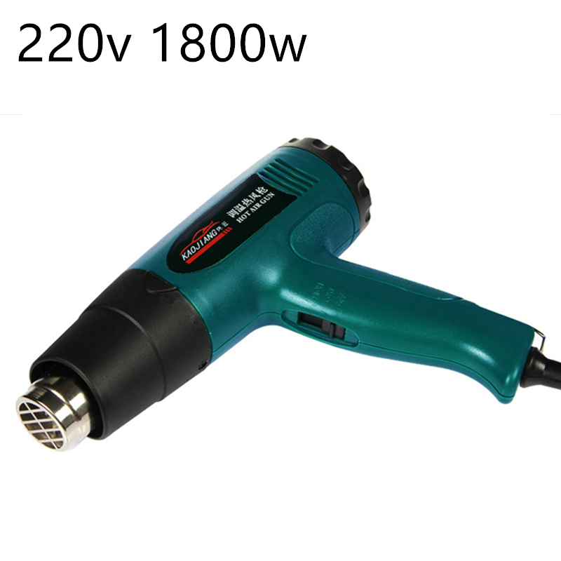 Image 5 - Portable induStrial blow Dryer Electric build tool thermal Hair technic gun conStruction hot air gun THERmostat TherMal BloWer-in Heat Guns from Tools