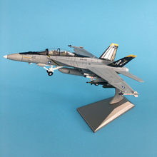 1/100 Military Modell Spielzeug F/A-18 Kämpfer Diecast Metall Flugzeug flugzeug Modell Spielzeug Für Collectio(China)