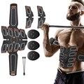 Стимулятор мышц живота, тренажер, электростимулятор для тренировки мышц, для дома и тренажерного зала