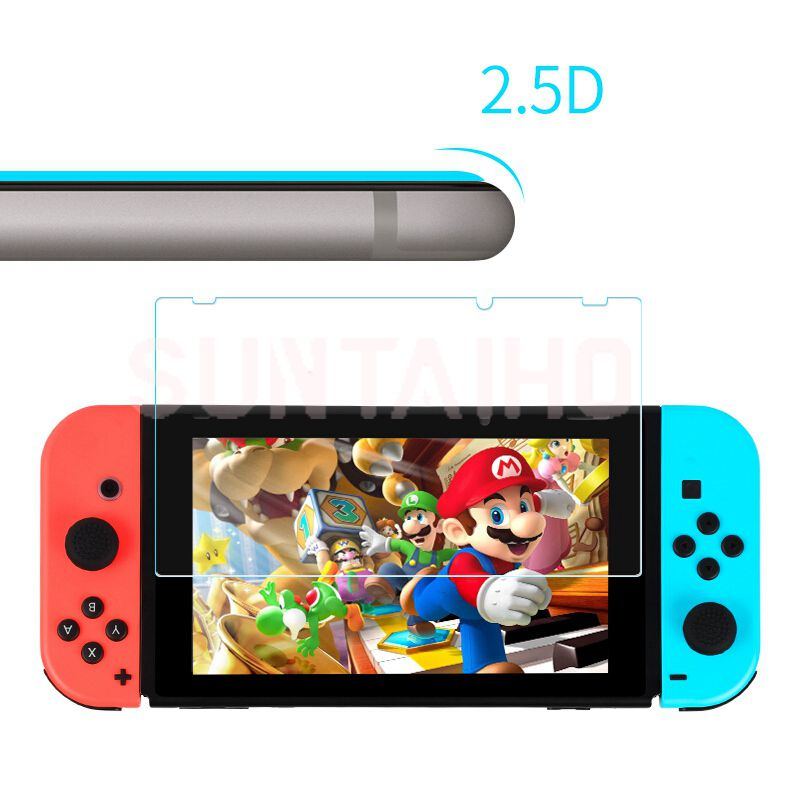 3PC Tempered Glass 9H HD Screen Protector Film For Nintendo Switch NS Screen Protector For Nintendo Switch Lite Accessories 5
