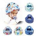 Детский защитный шлем для младенцев, детская шапка, шлемы для обучения ходить, детская Защитная мягкая удобная шапка для шлейки