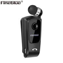 Fineblue F920 Mini Wireless Bluetooth Kopfhörer Teleskop Typ Business Kopfhörer Vibration Alarm Tragen Stereo Sport Kopfhörer