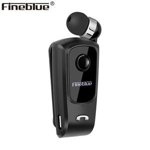 Image 1 - Fineblue F920 Mini Wireless Bluetooth Kopfhörer Teleskop Typ Business Kopfhörer Vibration Alarm Tragen Stereo Sport Kopfhörer