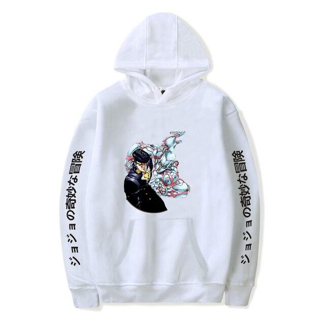 JoJo's Bizarre Adventure Hoodies Sweatshirts Men Women Harajuku Hoodies Anime Fashion Hoodie Japanese Streetwear Cartoon Hoodies 5