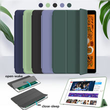 Silicone Cover Voor Huawei Mediapad M6 8.4 VRD-W09/-AL09 /M6 10.8 SCM-AL09/W09 Flip Silicone Stand voor Mediapad M6 Case + Film + Pen(China)