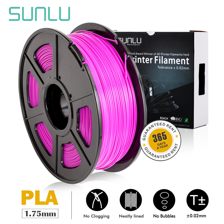 1KG 2.2 LBS Spool 3D Printing Material PLA Dimensional Accuracy +//- 0.02 mm Shiny Green Glow in The Dark Printer Filament PLA Filament 1.75mm
