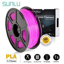 PLA SUNLU 1.75mm włókno PLA dokładność wymiarowa +/-0.02mm 2.2 funtów (1 KG) szpula 3D włókno dla 3D drukarki i 3D długopisy