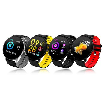DT41 K9 Sports Smart Bracelet Full Touch Heart Rate Sleep Monitoring Information Reminder Waterproof Intelligent Watch image