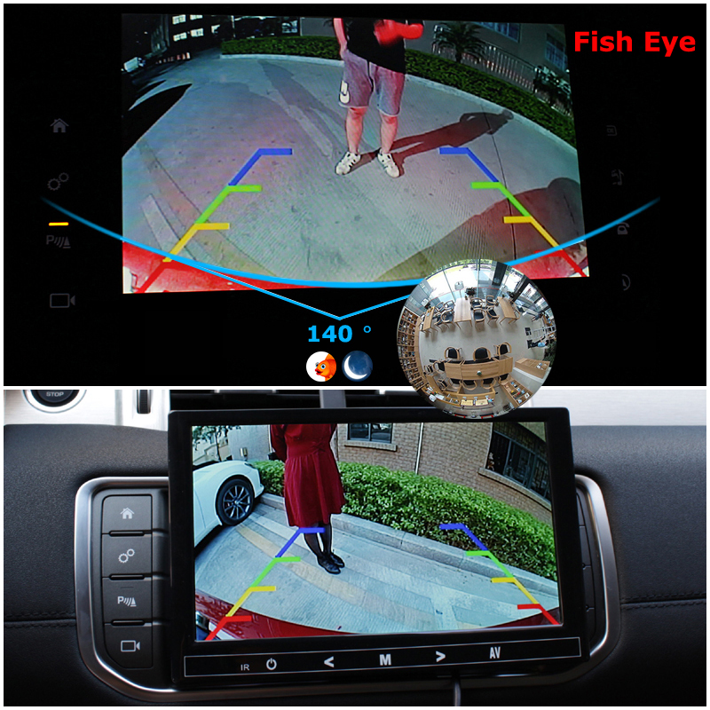 lowest price 170 Degree Wide CMOS Waterproof Car Rear View Camera 18 5mm Hole Reversing Backup Parking Night HD Camera 2016 High Quality