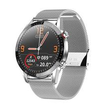 2020 L13 스마트 시계 심장 박동 혈압 산소 ECG 피트니스 트래커 Bluetooths 전화 IP68 방수 남성 여성 Smartwatch