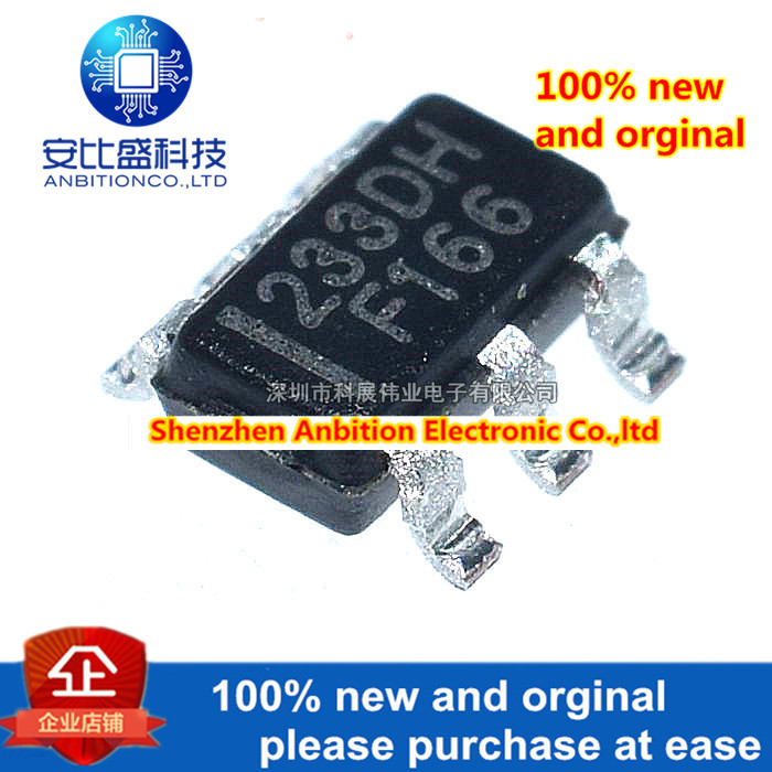 20pcs 100% New And Orginal  TTP233D-HA6 233DH SOT23-6  1 Key Touch Pad Detector IC  In Stock