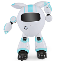 Interactive Wireless 2.4G Remote Control Moving Dancing Gifts Girls Boys Recording Kids Early Education Colorful LED Robot Toy