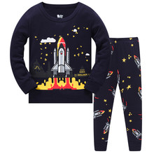 Children Clothes Kids Clothing Set Boys Pajamas Sets Letter Styling Nightwear Print Pajamas Girls Sleepwear Baby Pyjama hot sale kids boys girls clothing sleepwear pajama sets casual cotton print o neck pajamas suits lovely children home clothes