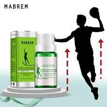 Mabrem altura crescente óleo medicina corpo crescer mais alto óleo essencial pé cuidados de saúde produtos propot osso crescimento