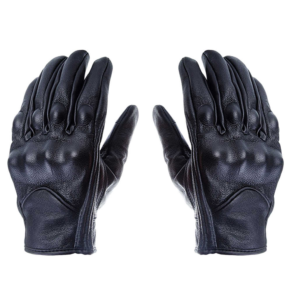 Winter Genuine Leather Gloves Touch Screen Gloves Warm Thicken Riding Workout Gloves for Travel Outdoor Motorcycle Accessories