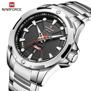 Image 2 - NAVIFORCE Top Luxury Gold Watch Sport Watches For Men Military Quartz Wristwatch Casual Waterproof Clock Male Relogios Masculino