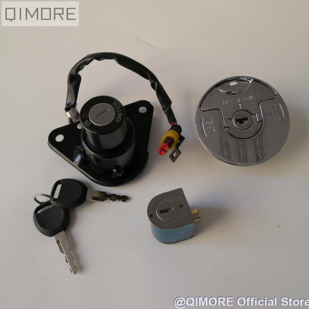 Ignition Switch / Fuel Tank Cap Lock Key Set For Motorcycle Keeway Cruiser 250 Dorado 250 Blackster 250 With Waterproof Socket