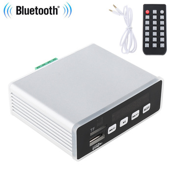 60W Home Theater Amplifiers Audio Bluetooth Amplifier Audio Power Amplifier MP3 Decoder Fit for APE/FLAC/WAV Decoding