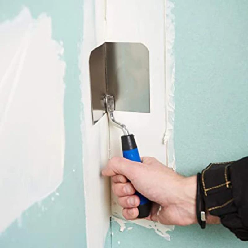 Mintiml Corner Eraser  Trowel Drywall Corner Tool Flexes For Perfect 90 Degree Corner Ergonomic Grip