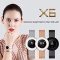 Женские Смарт-часы женские спортивные фитнес-браслет для Xiaomi huawei Телефон ip68 Водонепроницаемые часы для измерения артериального давления и ...