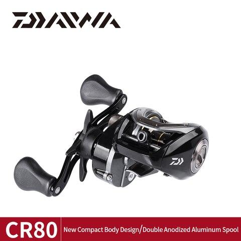 daiwa cr80 carreteis de pesca 6 8 relacao de engrenagem max arraste 7kg carretel de