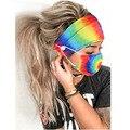 2 шт./компл. лента для волос при занятиях йогой с маской Для женщин женский ободок на голову Обёрточная бумага резинки для волос для бега на г...