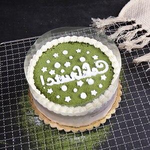 Image 4 - 1 ロールケーキフィルム透明ケーキ襟キッチンアセテートケーキチョコレートキャンディベーキングツール耐久性のある 8 センチメートル * 10m/10 センチメートル * 10 メートル