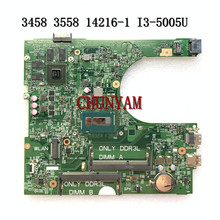 Mainboard Dell Inspiron FOR 3458/3558 Laptop I3-5005u/Gt920m/14216-1/.. PWB:1XVKN 100%Tested