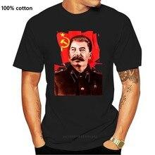 2019 Fashion Hot sale 100% cotton Joseph Stalin communist propaganda T-SHIRT Print Tee shirt