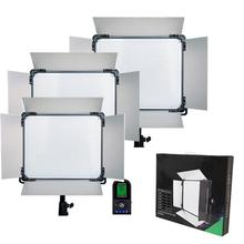1pcs Led video light lcd screen RC Lamp E-1080II Bio-color Lighting LED Studio Photography Lamp Lighting Panel DMX