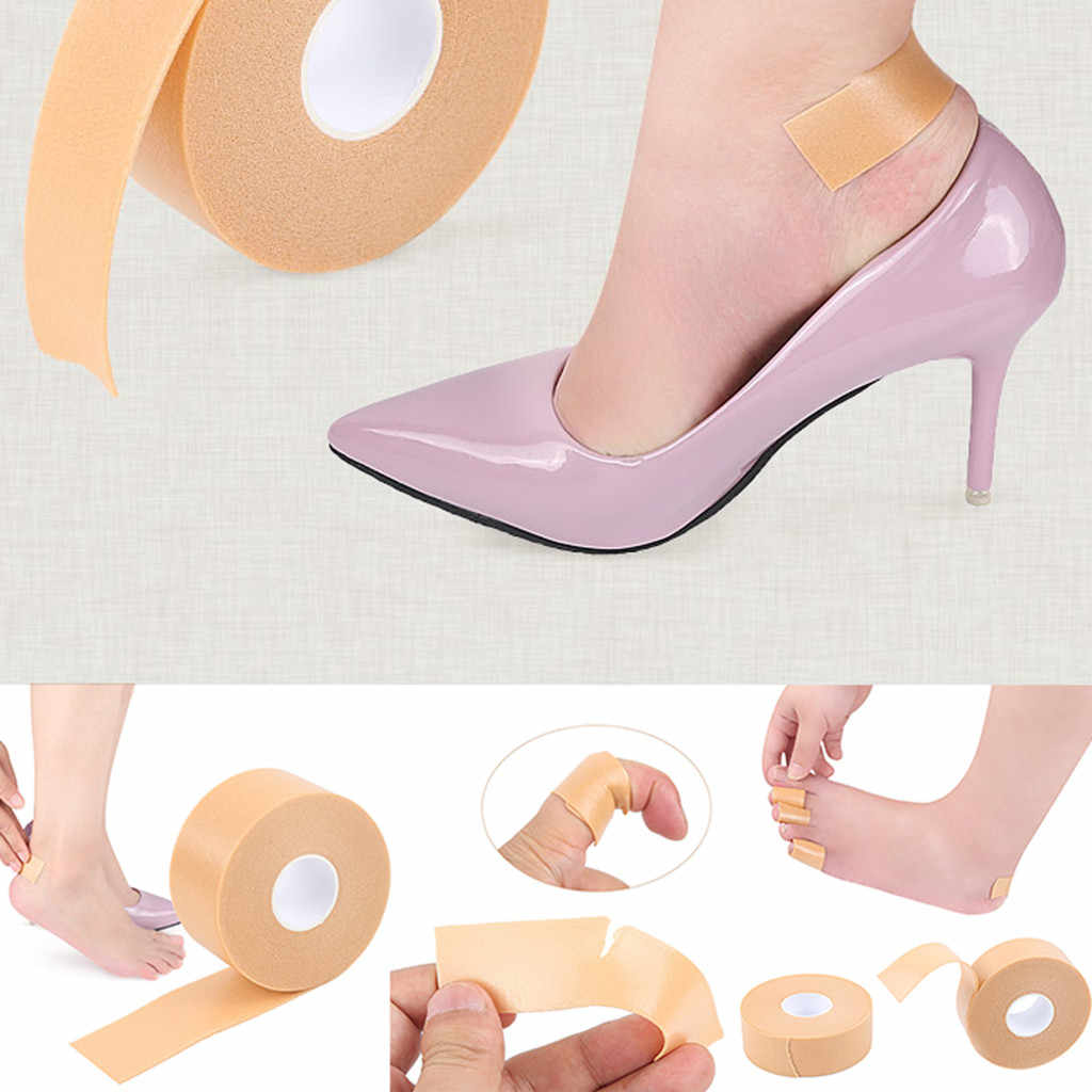 Etiqueta engomada del talón zapatos Post multifuncional antideslizante Post blíster pie pegatina