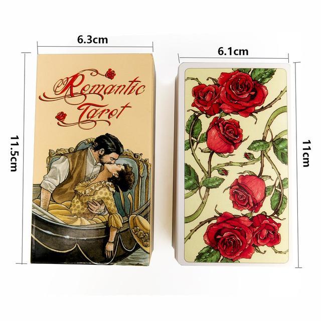 Romantic Tarot Cards Nouveau Tarot  Occult Tarot Roses Lenormand Tarot of the Divine Tarot Deck Card Games 2