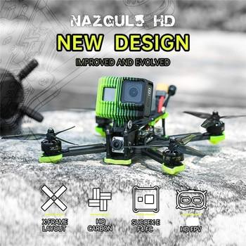 iFlight Nazgul5 HD 6S 5 Inch 240mm Freestyle FPV Racing Drone BNF Caddx Vista Cam XING-E 2207 1800KV SucceX-E F4 45A ESC RC Toys