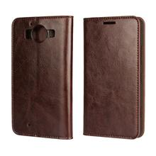 Real Genuine leather Flip Leather Mobile Phone Case for Microsoft Nokia Lumia 640 640XL Lumia950 950XL Wallet Cover Card Slots чехлы накладки для телефонов кпк mofi lumia640xl 640xl 640xl