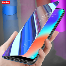 цена на For Samsung Galaxy J7 Neo Case J7 Core J701 J701F Smart View Mirror Stand Phone Case for Samsung J7 NXT Flip Leather Cover Funda