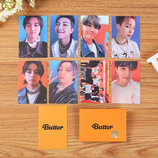 KPOP Bangtan Boys BUTTER Mini Photocard Weverse Shop Memebers LOMO Cards Premium Photos 6