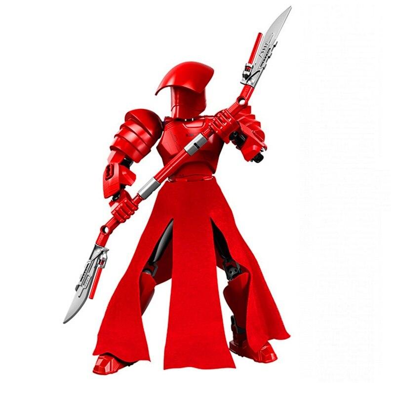 Star Wars Boba Fett Darth Maul Kylo Stormtrooper Phasma Ren Rey Vader Model Assemble Figure Construction Toys For Children 9