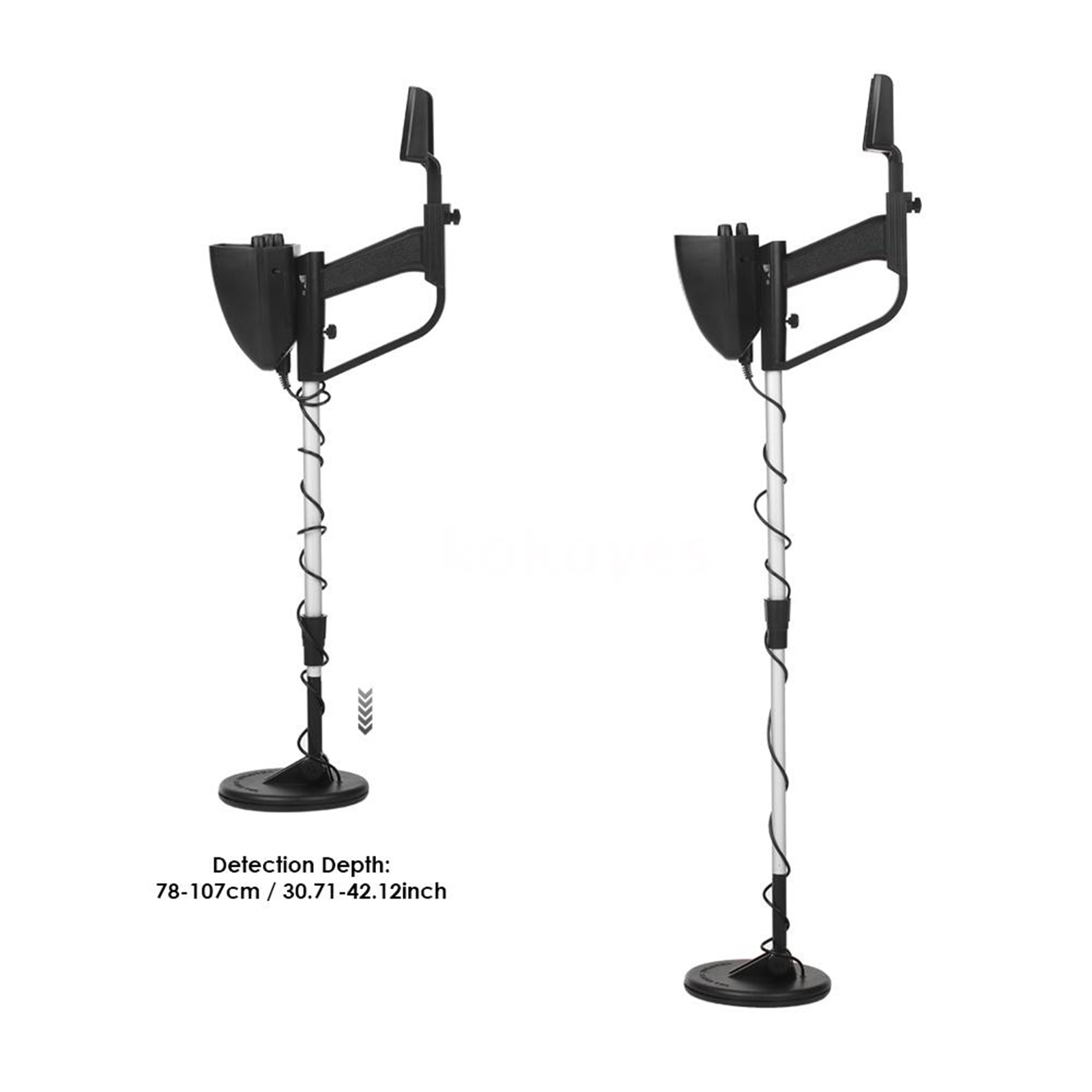 Metal Detector for Kids and Adults Sensitive Adjustable Outside Portable