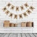 Домашний декор, искусственная джутовая веревка, флаги ласточкин хвост, гирлянда на день рождения, вечеринка