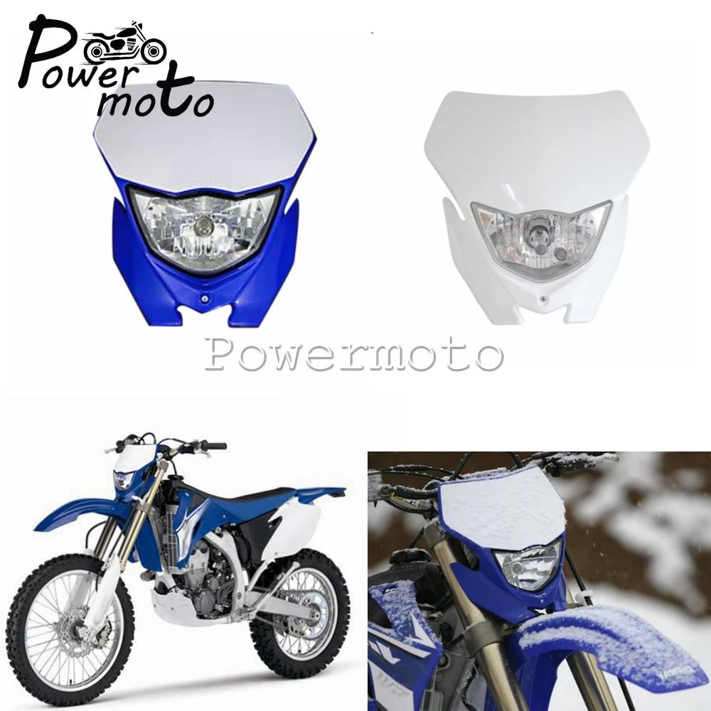 12V 35W Dirt Bike Headlight For Yamaha Honda WR 450 250 YZ TTR CRF230F Enduro