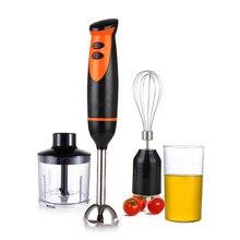 Liquidificador de mão, homgeek 300w 2-speed 4-em-1 conjunto liquidificador de imersão cozinha elétrica portátil processador de alimentos misturador juicer