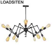 Candiles Modernos Industrial Home Deco Lampara Colgante Luminaire Suspendu Lustre E Pendente Para Sala De Jantar Hanging Lamp