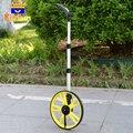 Складное портативное Расстояние измерительное колесо длинное расстояние 0-99999,9 м ручной механический дальномер с лента для рюкзака