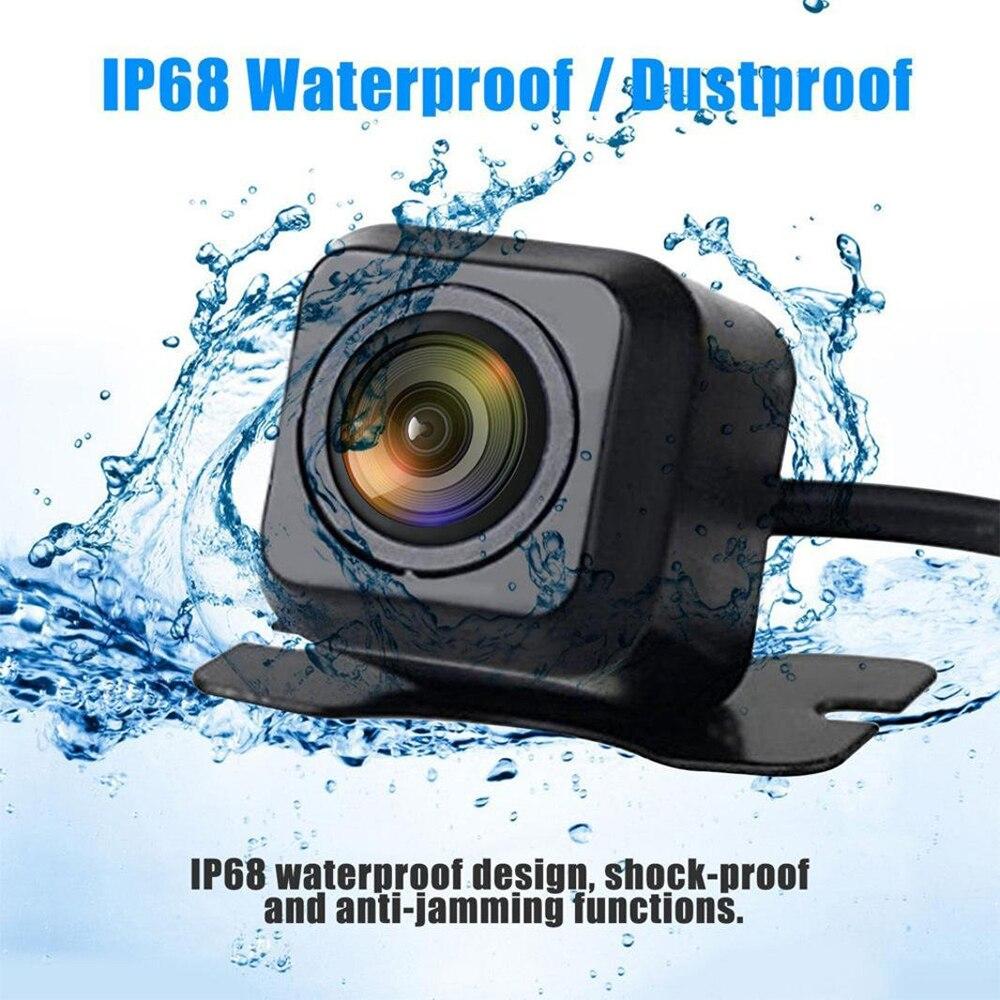 Автомобильная камера заднего вида, универсальная HD камера ночного видения, запасная парковочная камера 170, широкоугольная Водонепроницаем...