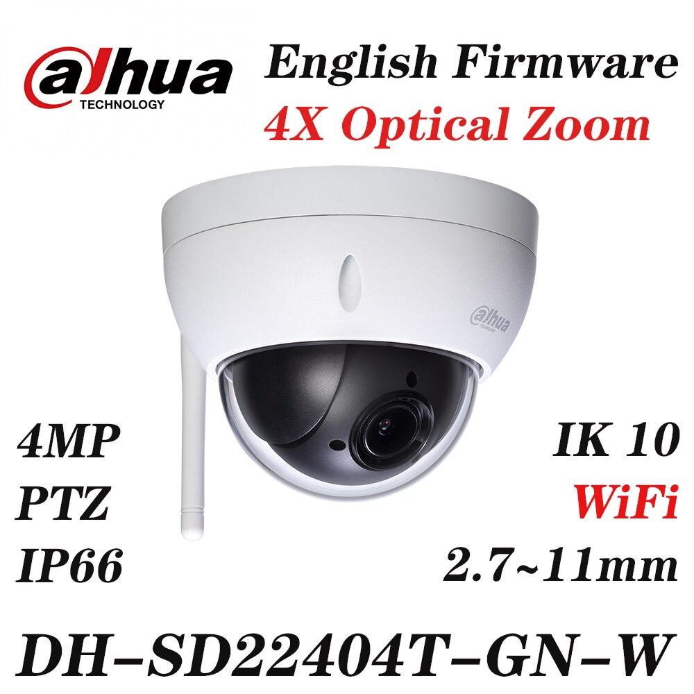 Güvenlik ve Koruma'ten Gözetim Kameraları'de Dahua SD22404T GN W 4MP 4x PTZ İngilizce kamera Firmware güncelleme SD22404T GN SD22204T GN SD29204T GN Logo ile WiFi ağ title=