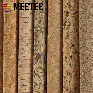 Image 3 - Meetee 200X137cm 0.5mm Thick Natural Cork Leather Fabric DIY Bags Shoes Luggage Handmade Craft Wood Grain Decor Material Supply