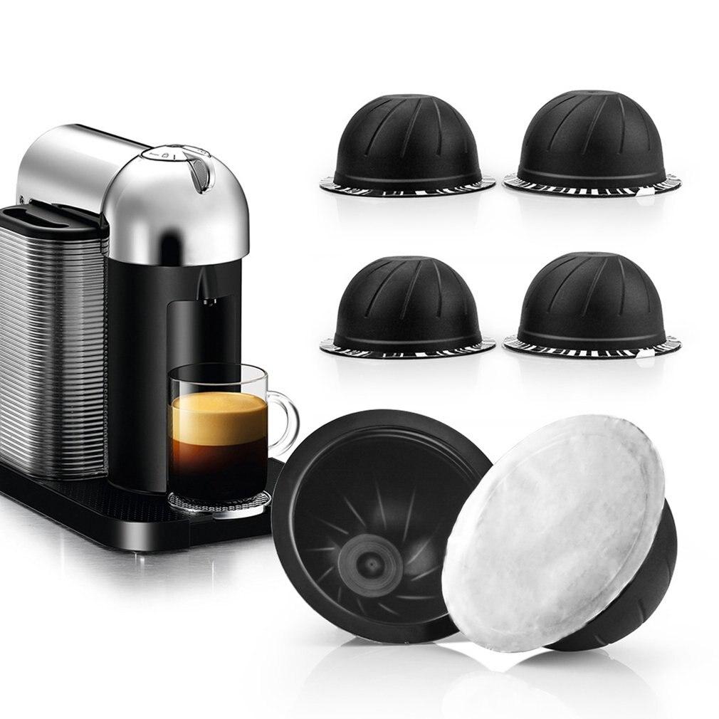 Одноразовая алюминиевая фольга пленка для чашки Nespresso Vertuo Vertuoline GCA1 & Delonghi ENV135 самоклеющиеся капсулы фольгированные уплотнения