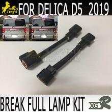 XGR breken staart volledige lamp kit 4 licht voor voor delica D5 2019 accessoire