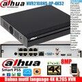 Dahua mutil language NVR2108HS-8P-4KS2 8ch PoE порты разрешение 8MP 4K H.265 Lite сетевой видеорегистратор DHI-NVR2108HS-8P-4KS2